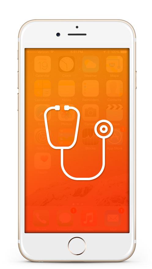 iPhone Diagnose