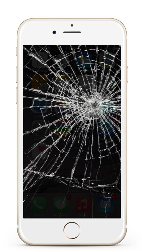 Kaputter iPhone Display